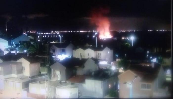 """الهلع يصيب الصهاينة بعد إطلاق المقاومة صاروخا على """"سديروت"""""""