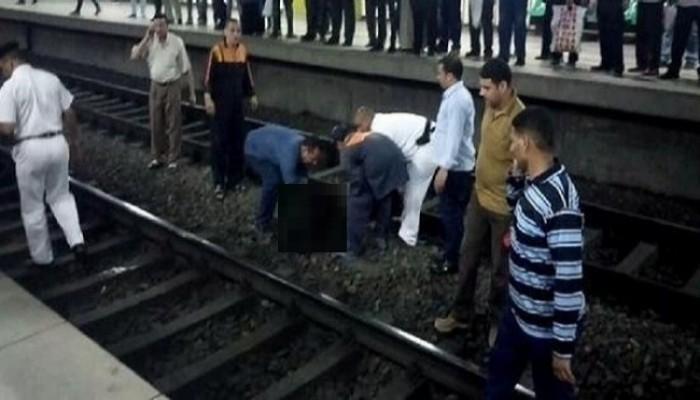 "8 حالات انتحار تحت عجلات ""المترو"" منذ مطلع 2019"