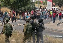 إصابة العشرات في مواجهات مع الاحتلال بالضفة الغربية