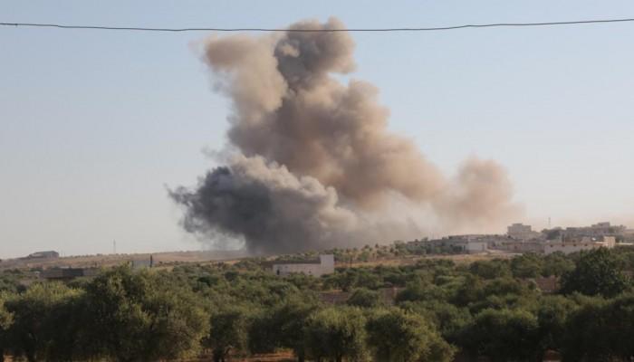 غارات جوية تستهدف مدنين في ريف إدلب بسوريا