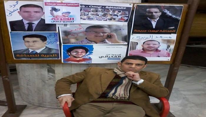 صحفي يندد بموقف النقابة المتخاذل بعد التعدي عليه من ضابط شرطة