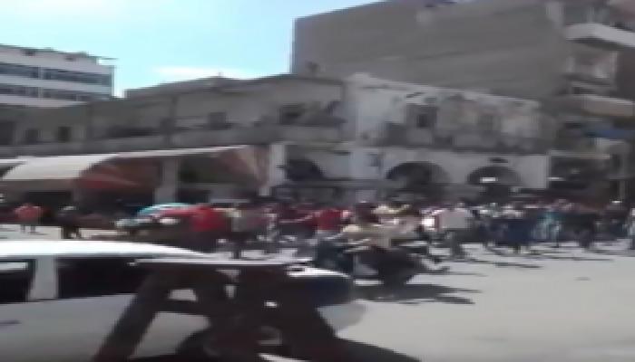 انطلاق مظاهرات في بورسعيد تطالب برحيل قائد الانقلاب