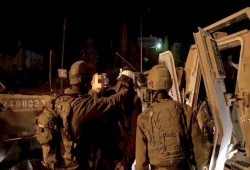 الاحتلال الصهيوني يعتقل 19 فلسطينيًّا بالضفة الغربية