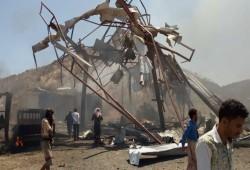 17 قتيلا جراء غارتين للتحالف السعودي الإماراتي على اليمن