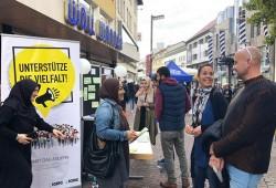 محاولة طعن مسلمات خلال فعالية مناهضة للتمييز في ألمانيا