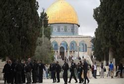 235 صهيونيا يقتحمون الأقصى في رأس السنة (العبرية)