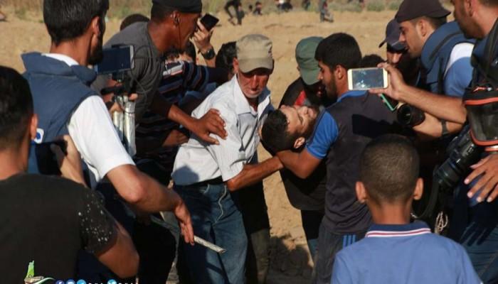 شهيد وإصابات بقمع الاحتلال مسيرة العودة شرق القطاع