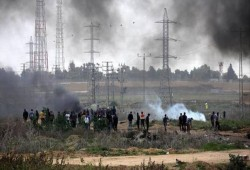 جيش الاحتلال يصيب 49 فلسطينيا شرقي قطاع غزة