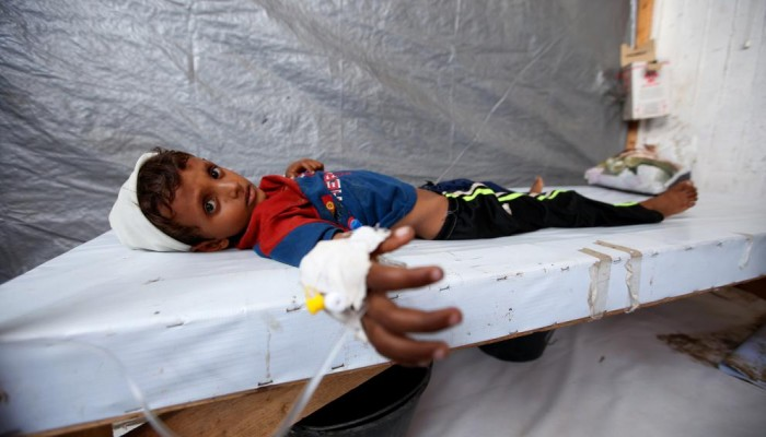 الصحة العالمية: وفاة 913 بالكوليرا في اليمن منذ مطلع 2019