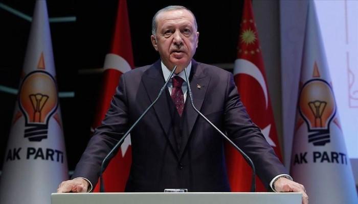 """أردوغان: هناك بشرى قريبة لأمتنا بشأن """"تخلص تركيا من الإرهاب"""""""