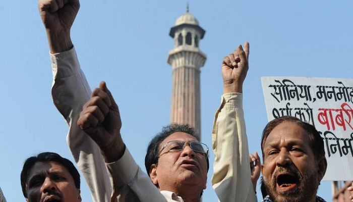 "هدمه هندوس.. مسلمو الهند قلقون مع اقتراب إصدار حكم بشأن مسجد ""بابري"""