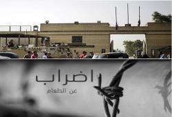 """""""أنا مضرب عن الطعام"""" حملة للتضامن مع المعتقلين.. واعتقال وإخفاء 10"""