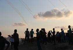 69 مصابا بقمع الاحتلال ضد مظاهرات العودة شرق القطاع