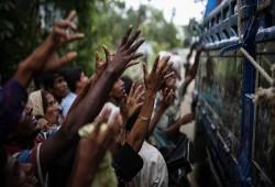 إنقاذ 119 من مسلمي الرهينجيا من الغرق خلال محاولة العبور لماليزيا