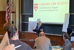 """طلاب بجامعة هارفارد يقاطعون محاضرة للقنصل الصهيوني """"فيديو"""""""