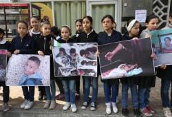 هنية: البناء والتحرير يسيران بالتوازي.. وأطفال غزة يرفعون صور الشهداء