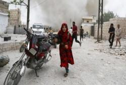 """الجارديان: """"كلور"""" بشار ضد السوريين يثير صراعًا بين روسيا والغرب"""