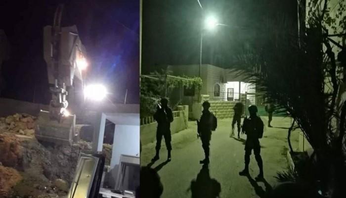 الاحتلال يقتل فلسطينيا ويهدم 4 منازل ويعتقل العشرات ويواصل اقتحام للأقصى