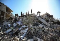 فيديو.. 20 ضحية بمجزرة جديدة لميليشيات بشار في إدلب