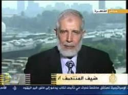 د. محمود عزت على الجزيرة