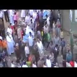 كلمة المهندس سعد الحسيني اثناء اعتداء قوات الامن