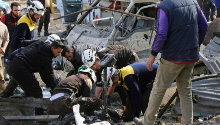 مقتل 11 مدنيًّا سوريًّا في قصف لميليشيات بشار على إدلب