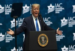 ترامب يتوعّد الفلسطينيين ويؤكد: أنا أفضل صديق للصهاينة