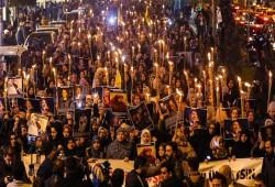 الآلاف يشاركون بمسيرة في إسطنبول دعمًا للمعتقلين بسجون الانقلاب
