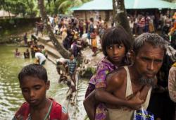 زعيمة ميانمار تعترف بتنفيذ ضربات جوية ضد مسلمي الروهينجا