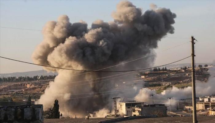 إدلب تستقبل أولى ساعات 2020 بغارات روسية عنيفة