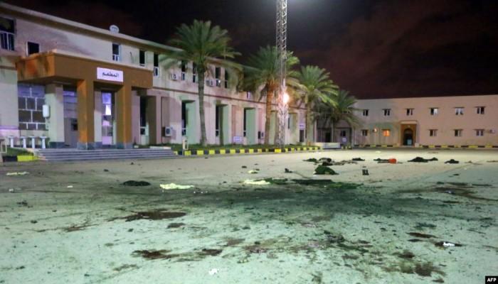 ليبيا.. ارتفاع قتلى قصف مقر الكلية العسكرية بطرابلس إلى 30