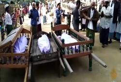 مقتل 4 أطفال من الروهينجيا في أراكان