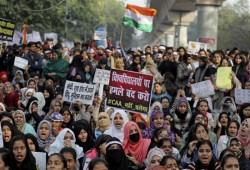 مسلمات الهند يواصلن الاحتجاج ضد قانون الجنسية الذي يستثني المسلمين