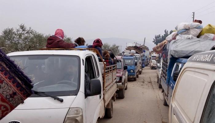الأمم المتحدة: الوضع الإنساني في إدلب خطير ونزوح نصف مليون في شهرين