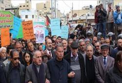 """مسيرات أردنية احتجاجًا على """"صفقة القرن"""" واتفاقية الغاز الصهيوني"""