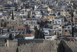 القدس.. أبنية ترفرف عليها أعلام غربية تحكي قصصا تاريخية