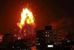 المقاومة تقصف مغتصبات الصهاينة بعشرات الصواريخ إثر عدوان غاشم على غزة