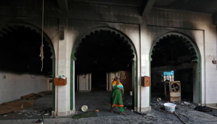 الهند.. حرق مسجد واعتداءات على المسلمين وارتفاع القتلى لـ20 شهيدًا