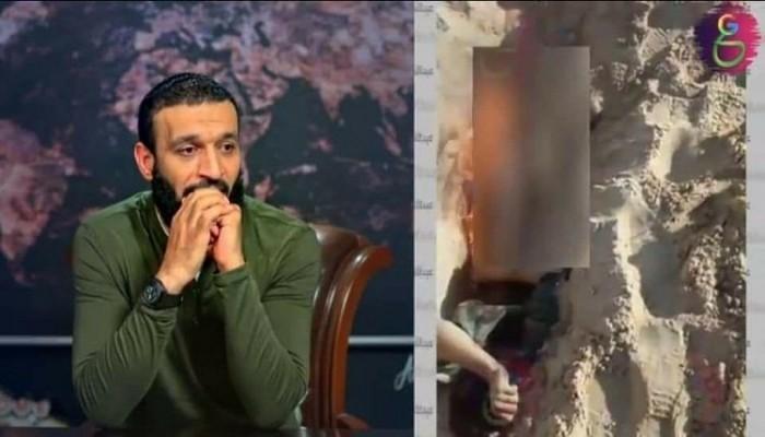 غضب عارم بسبب فيديو مسرّب لتمثيل ضابط بجيش الانقلاب بجثة شاب سيناوي
