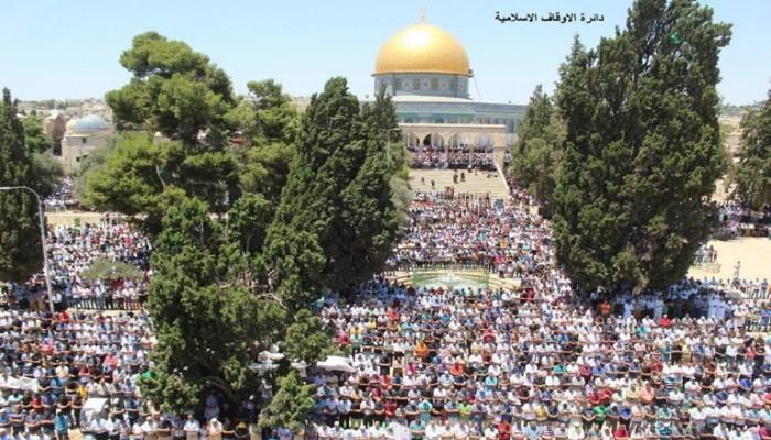 """بسبب """"كورونا"""".. أوقاف القدس تعلق حضور المصلين للمسجد الأقصى بدءا من اليوم"""