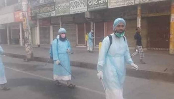 """علماء ومنظمات وأحزاب إسلامية ببنجلاديش يقدمون المساعدة لمواجهة وباء """"كورونا"""""""