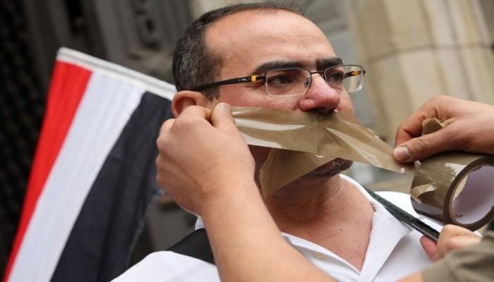 """""""مرصد حرية الإعلام"""": تعتيم إعلامي وملاحقة صحفيين وحجب مواقع في مارس"""