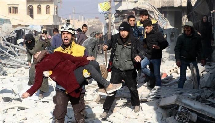 """فيديو وصور"".. 3 سنوات على استهداف ""خان شيخون"" السوري بالكيماوي"