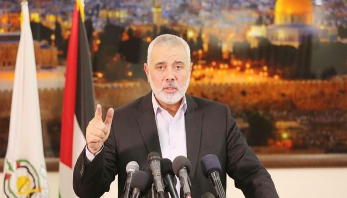 تهنئة إسماعيل هنية لأبناء للشعب الفلسطيني والأمة بحلول عيد الفطر