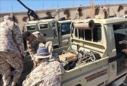 الجيش الليبي يدمر 10 آليات مسلحة لميليشيا حفتر