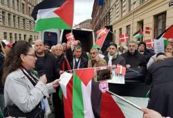 تظاهرتان رافضتان للضم في كندا والدنمارك