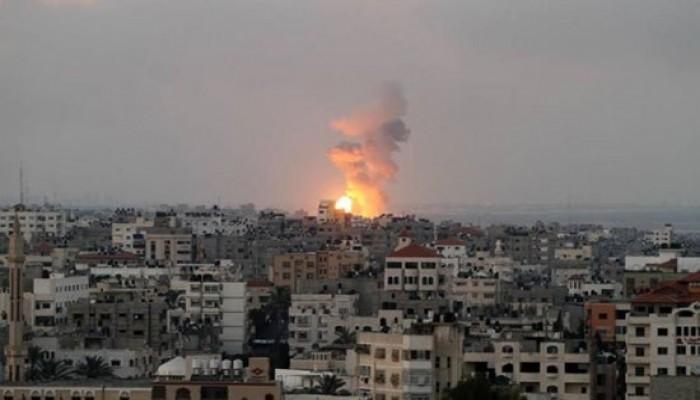 الصهاينة يرفعون حذرهم قبل وبعد قصفهم مساء الأحد قطاع غزة