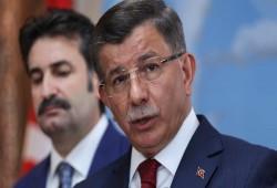 """""""داود أوغلو"""" يساند """"أردوغان"""" في ليبيا: تهديدات """"السيسي"""" و""""ماكرون"""" عمى استراتيجي"""
