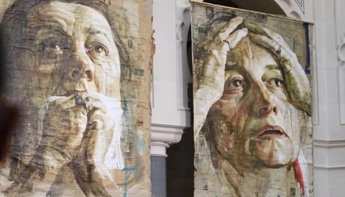 ما أنكره العالم عن الضحايا المسلمين بمذبحة سربرنيتسا.. تبوح به لوحات فنية بعد ربع قرن