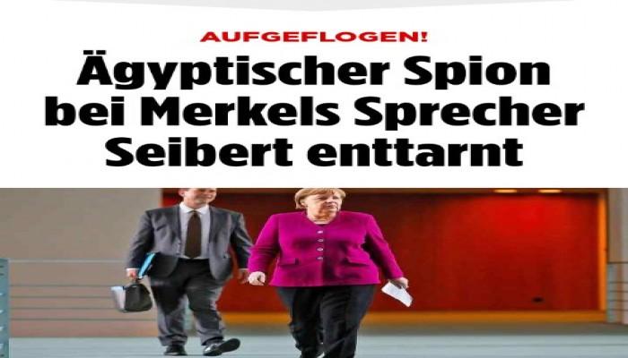 """صحيفة ألمانية: رغم الكشف عن جاسوسه.. ميركل تلغي 80 مليون يورو من ديون """"السيسي"""""""